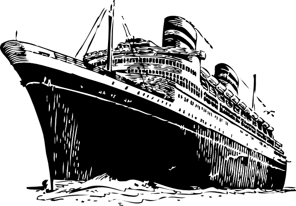 Ocean Liner Clip Art at Clker.com.