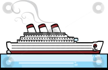 Ocean Liner Clipart.