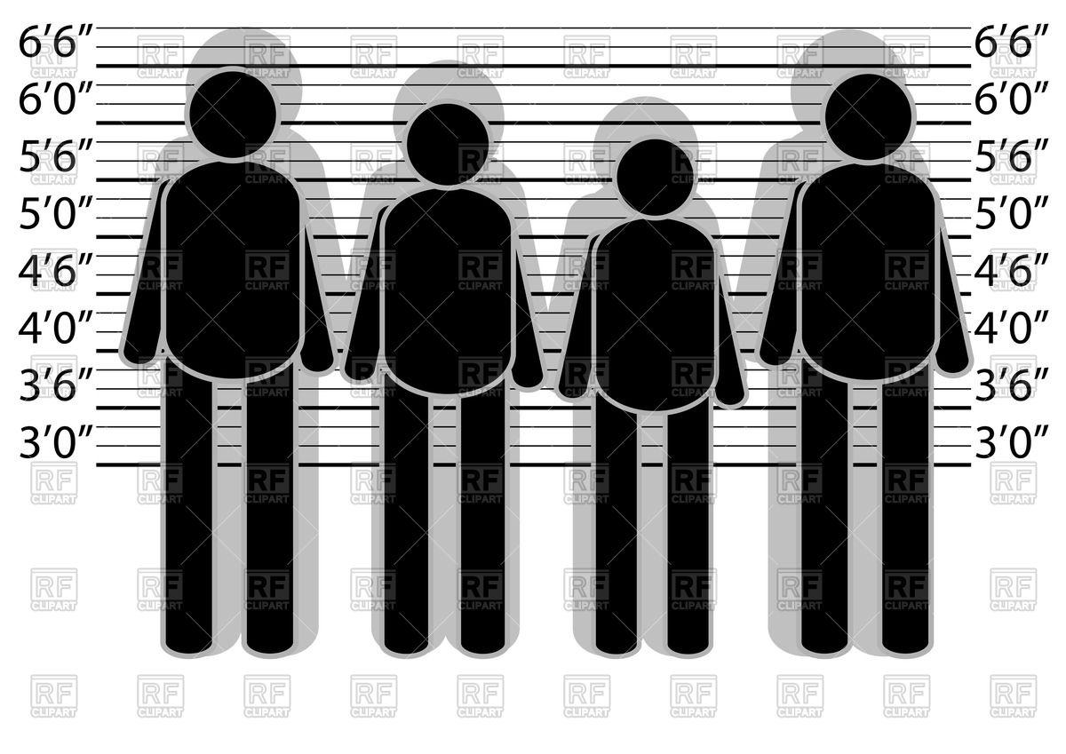 Lineup police.