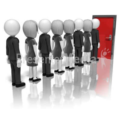 people line up clipart clipground