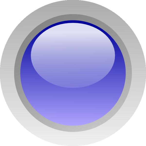 Led Circle (blue) Clip Art at Clker.com.