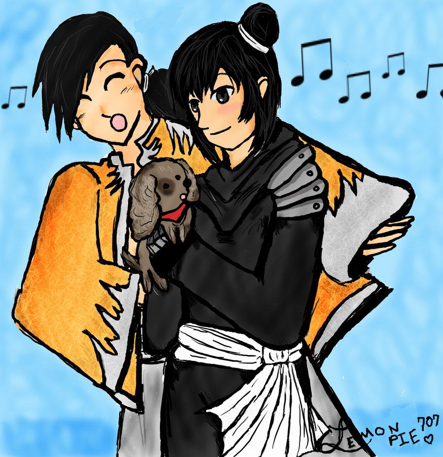 Ling Lan Fan and a puppy by lemonpie707 on DeviantArt.