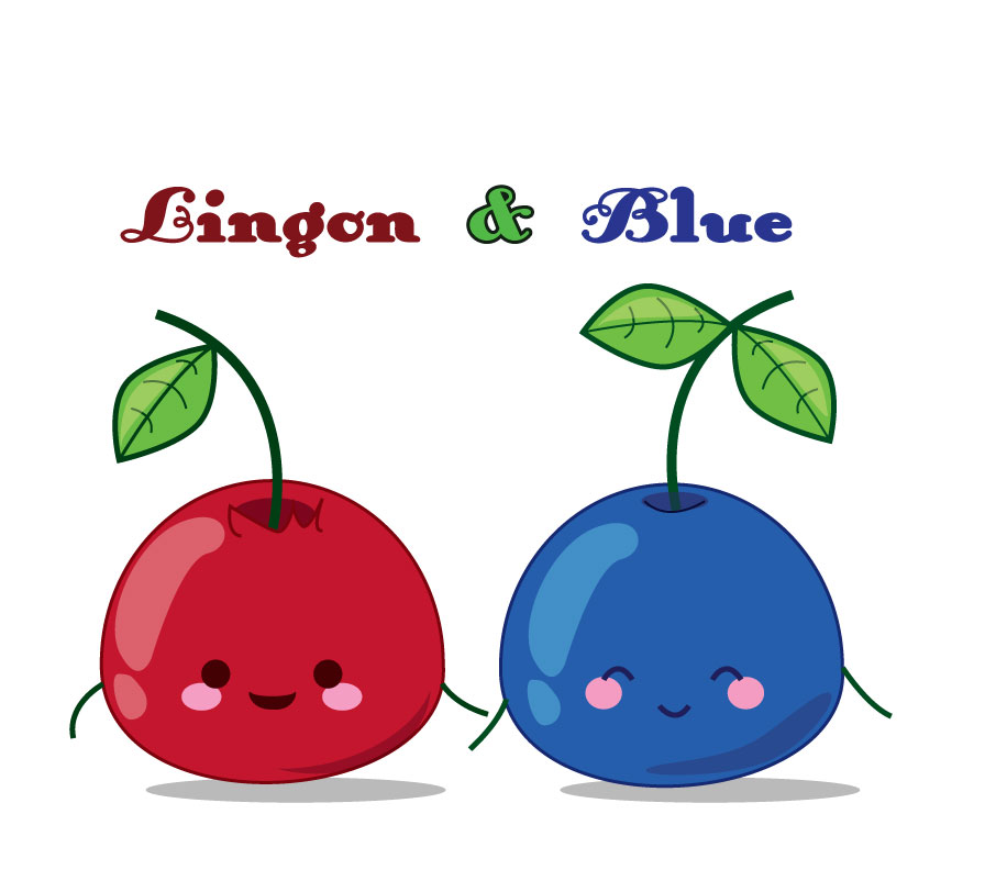 Lingon and Blue by deizie on DeviantArt.