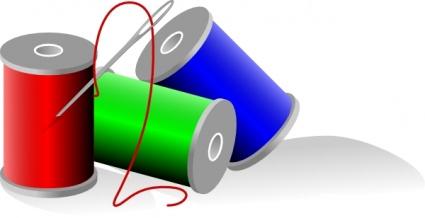 Thread Rolls clip art Clipart Graphic.