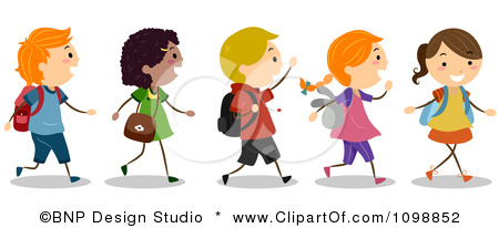 Images: Kids Lining Up Clipart.