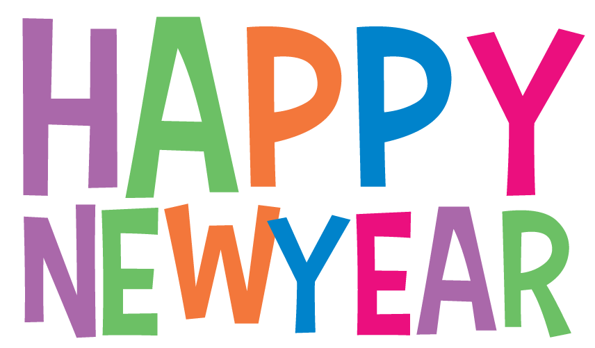 Free New Years Clipart Pictures! Fireworks, champagne, signs!.