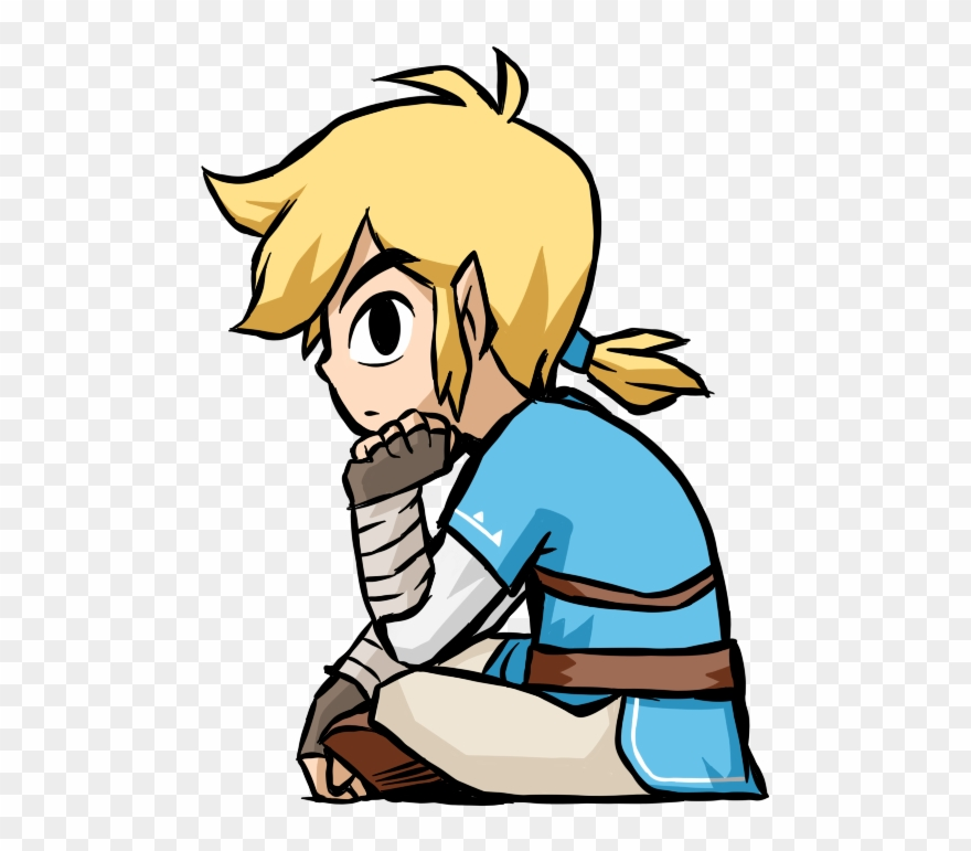 Breath Of The Wild Link Legend Zelda.