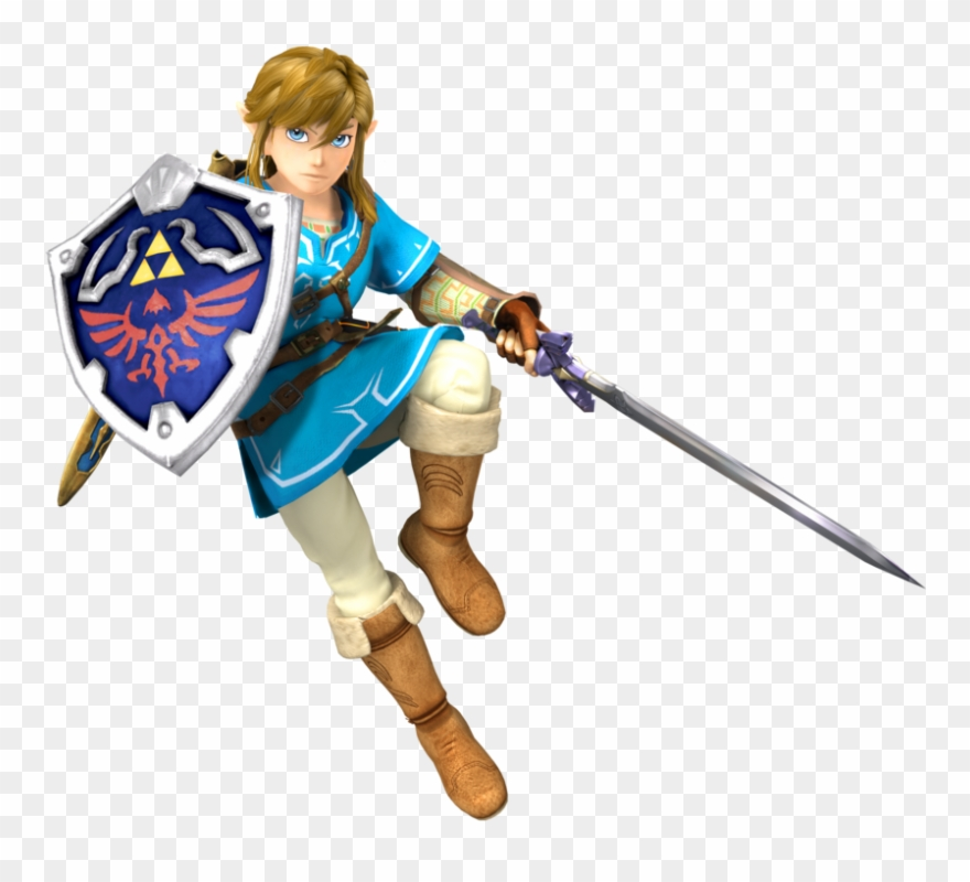 Zelda Link Transparent Clipart.