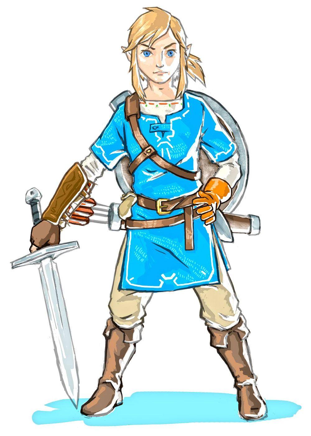 Link & Sword Concept.