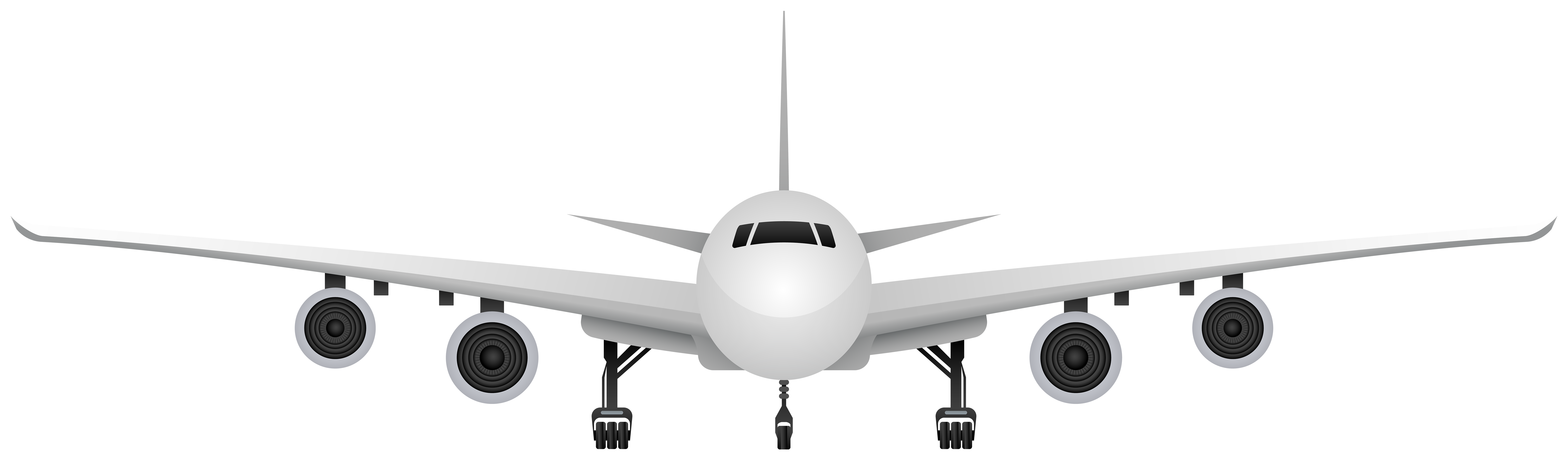 Airplane PNG Clip Art Image.