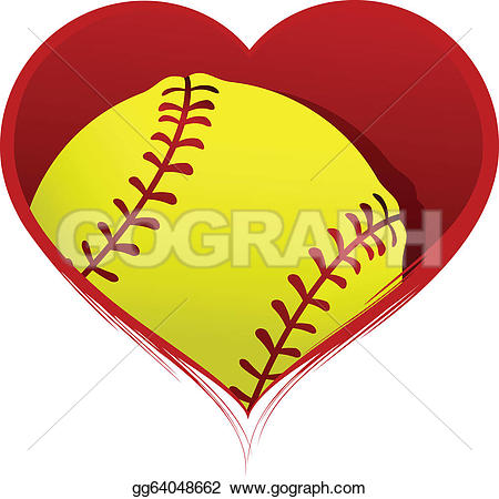 Softball clip art borders.