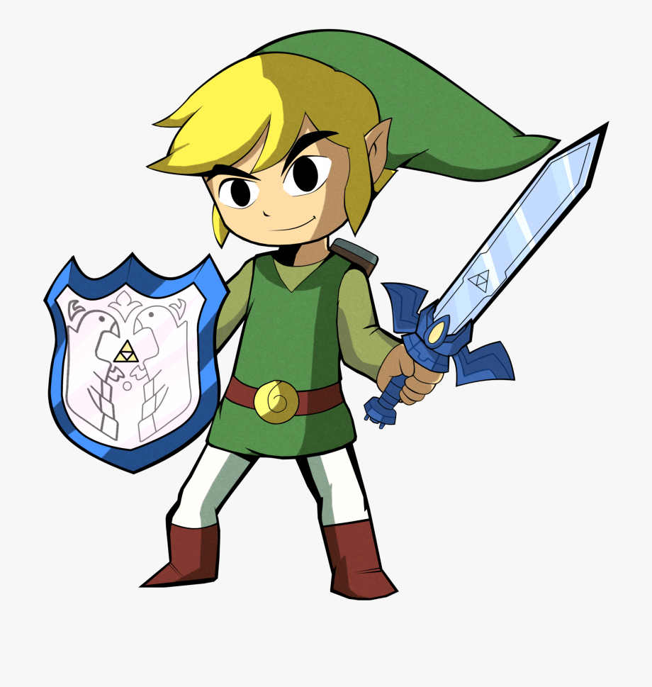 The Legend Of Zelda Clipart Toon Link.