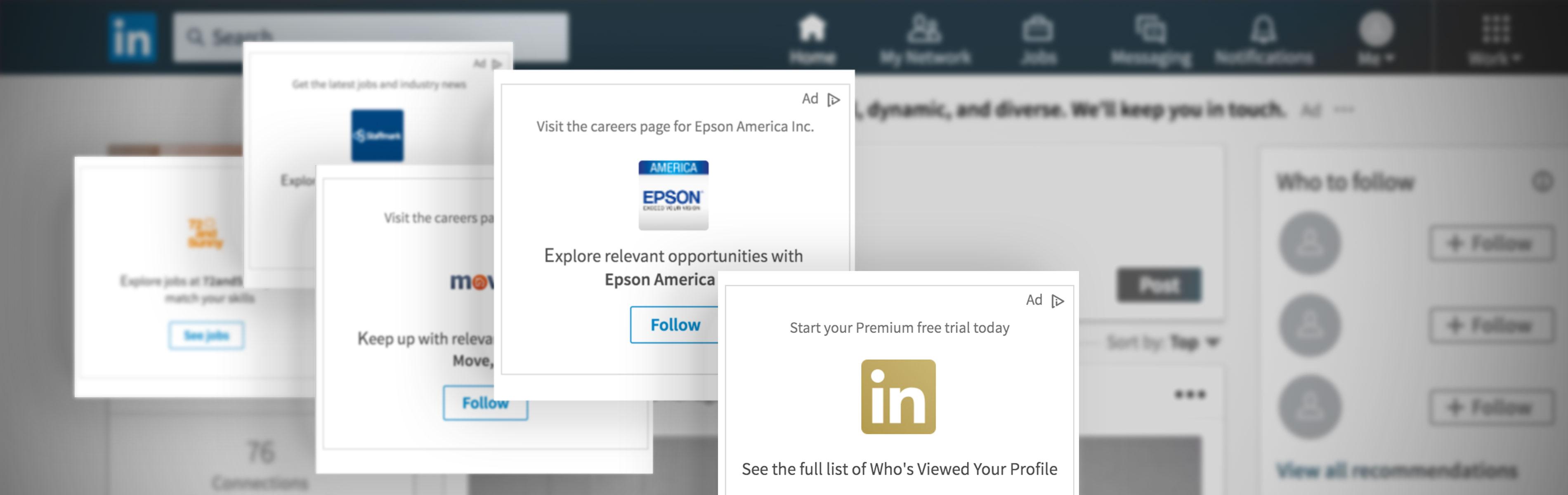 LinkedIn Ads Management.