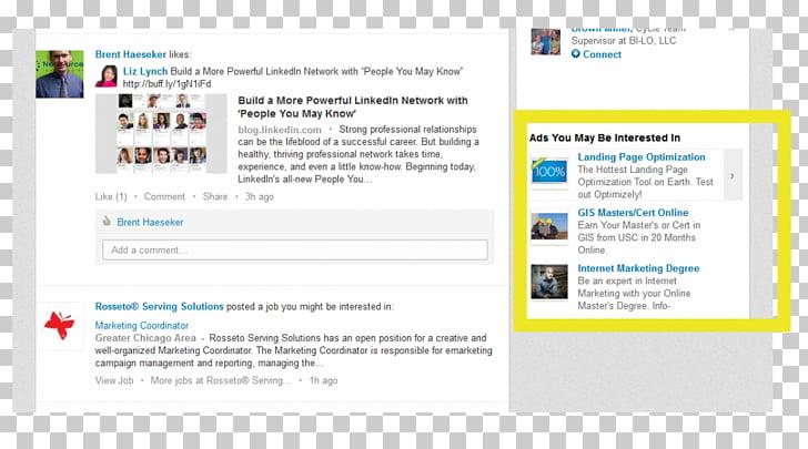 Online advertising LinkedIn Marketing Social media, text.