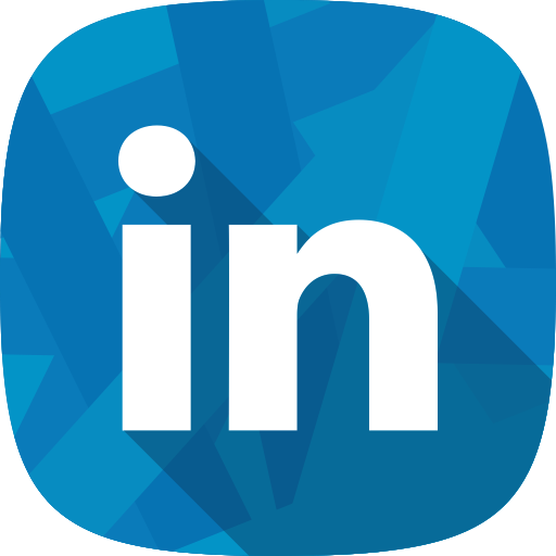 Hr, social network, Linkedin, recruitment icon.
