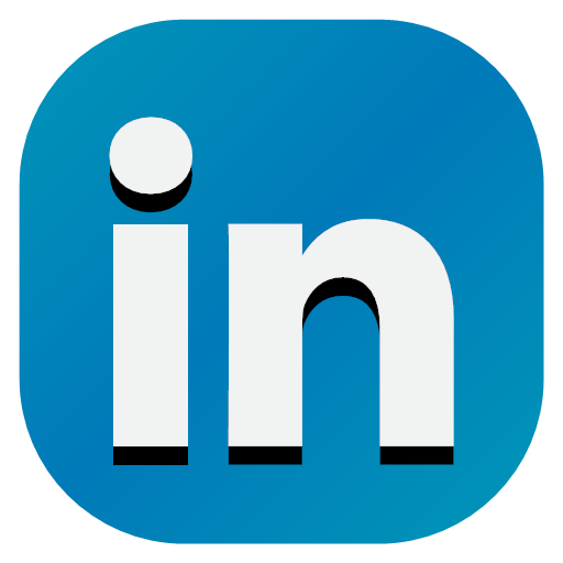 Apps linkedin media social icon.