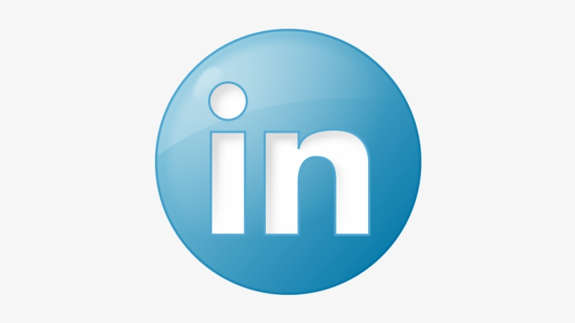 Social Linkedin Button Blue Icon Png Clipart Png Images.