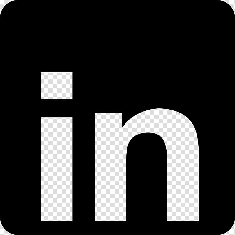 LinkedIn transparent background PNG clipart.