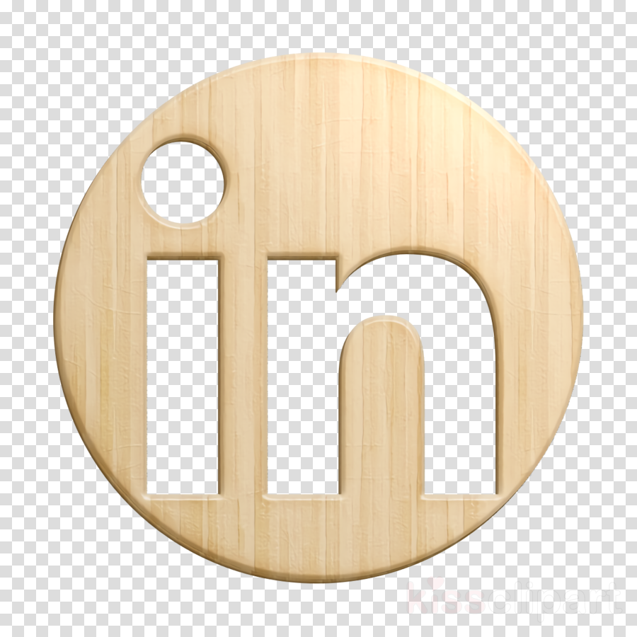 Linkedin icon Linkedin logo icon social icon clipart.