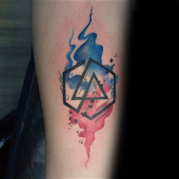 70 Linkin Park Tattoo Ideas For Men.