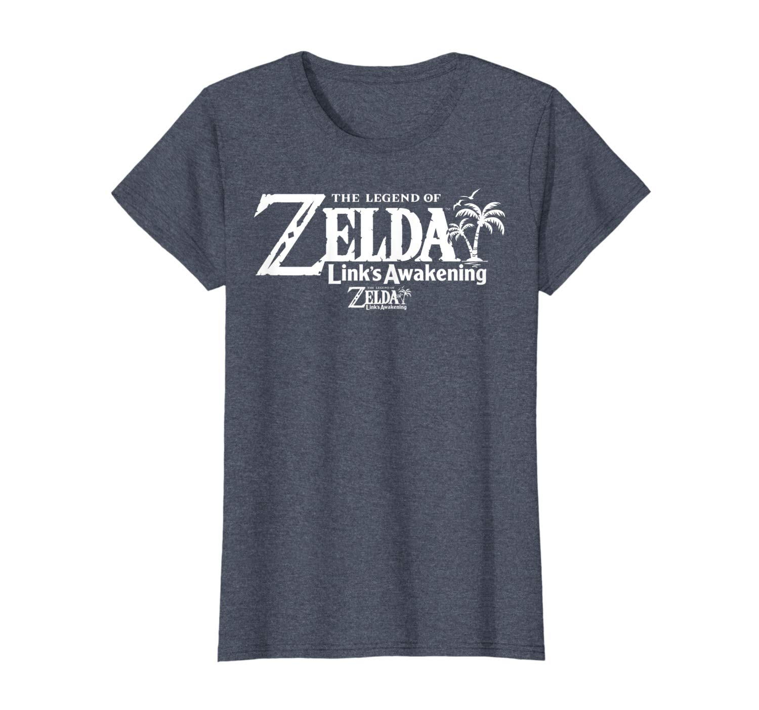Amazon.com: Legend Of Zelda Links Awakening Palm Tree White.