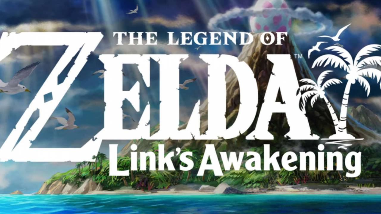 Legend of Zelda: Link\'s Awakening Game Boy classic remake.