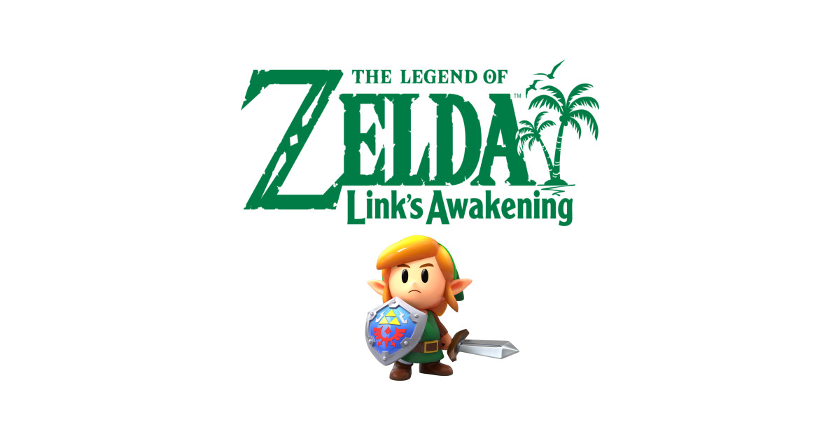 Link\'s Awakening Logo by immortalscy.