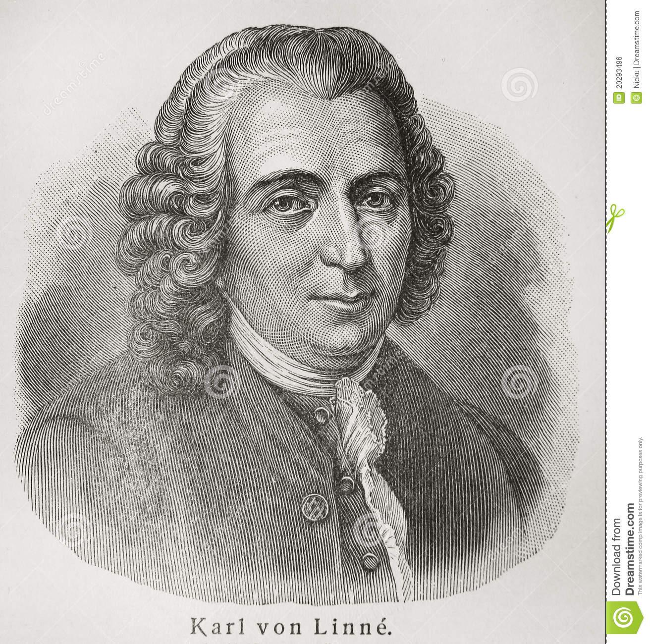 Carolus Linnaeus Editorial Photo.