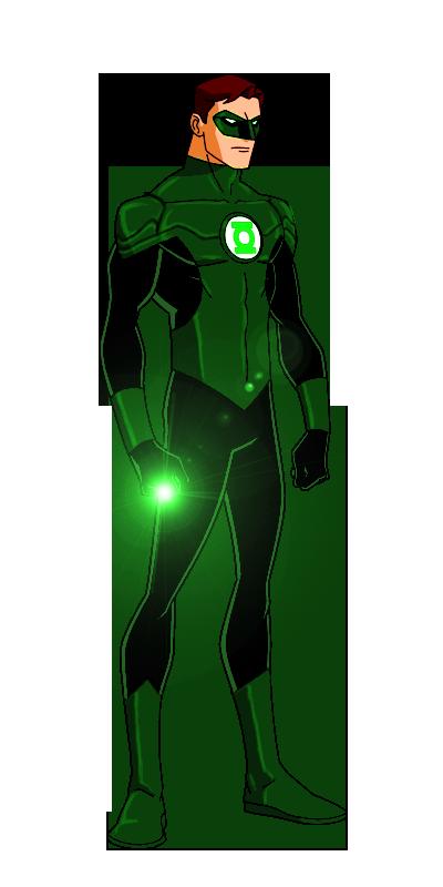 Linterna Verde versión animada.