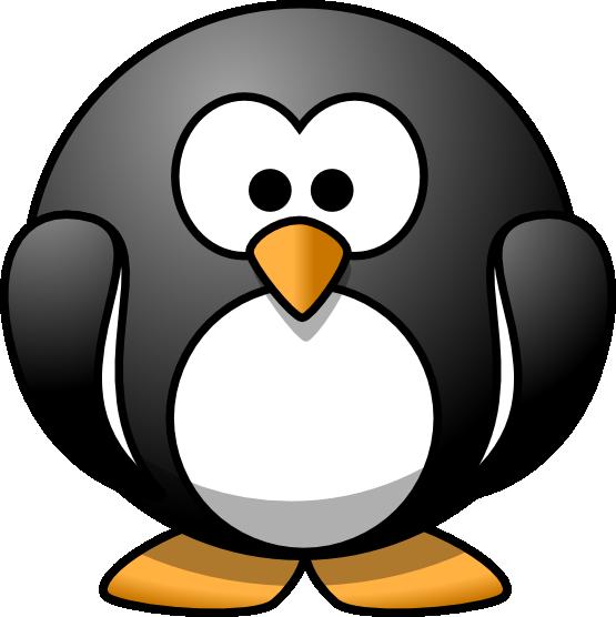 clipartist.net » Clip Art » lemmling penguin linux SVG.