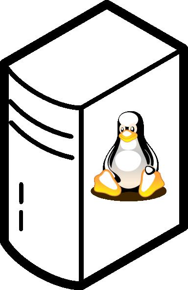 Linux Server Clip Art at Clker.com.