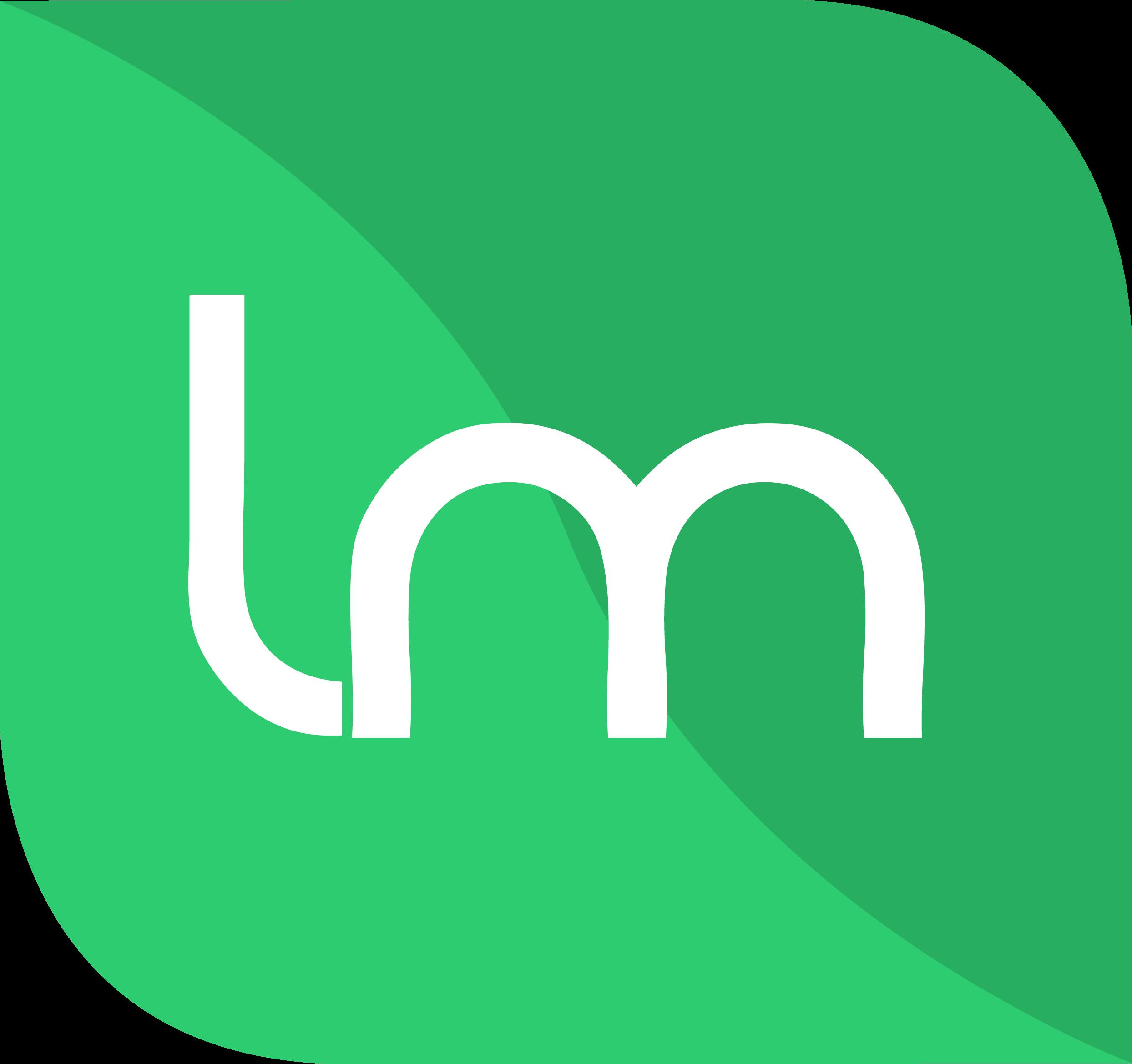 Linux Mint Logo Concept.