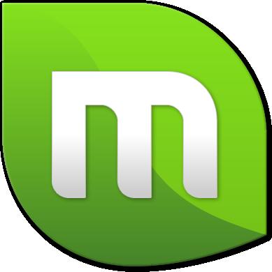 사용하고 있는 리눅스민트 로고.