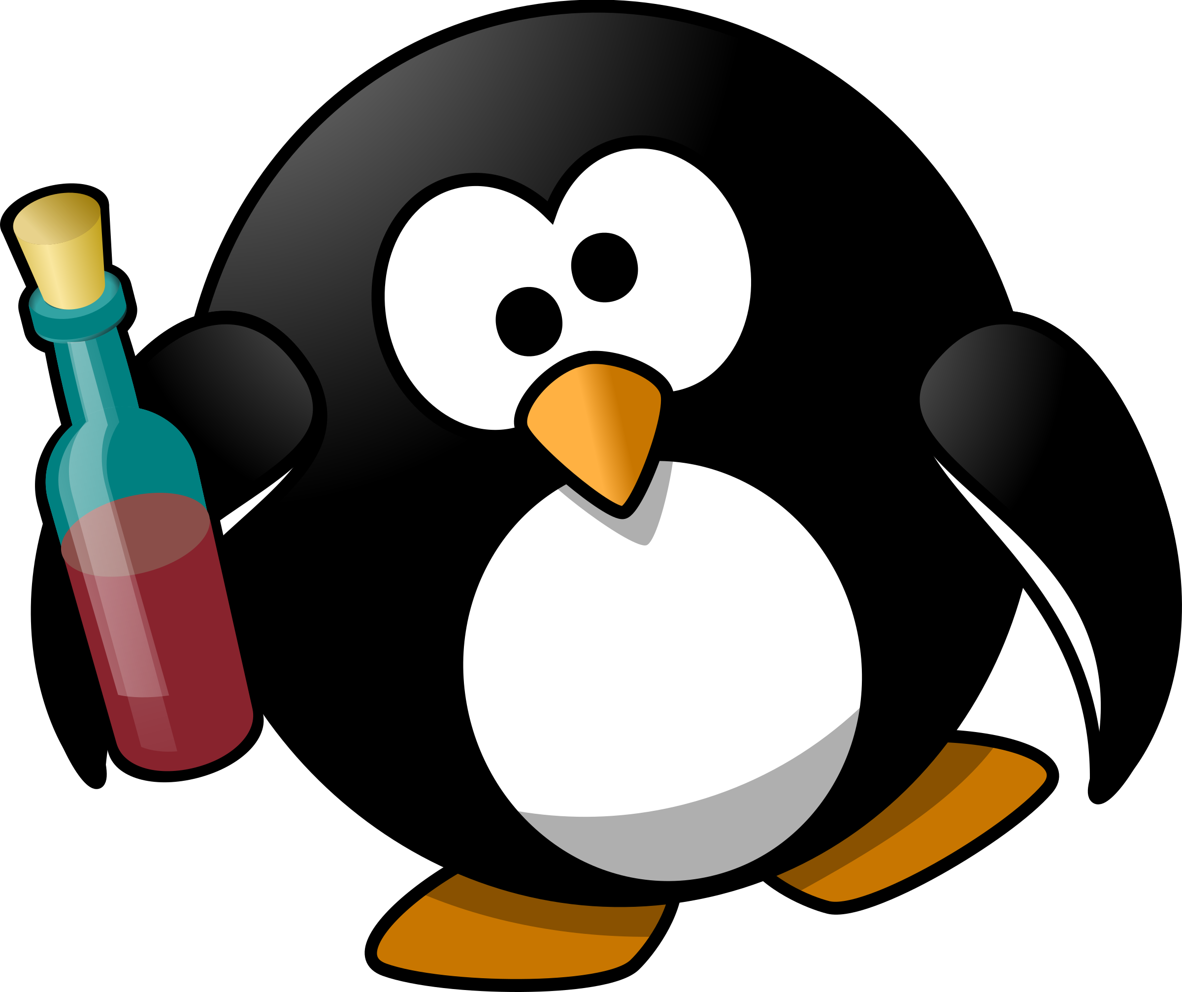 Open clipart penguin, Open penguin Transparent FREE for.
