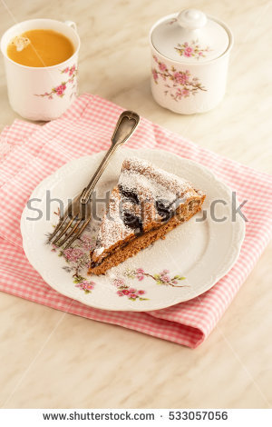 Linzer Torte Stock Photos, Royalty.
