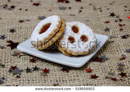 Marmelade Cookies Banque d'Image Libre de Droit, Photos, Vecteurs.