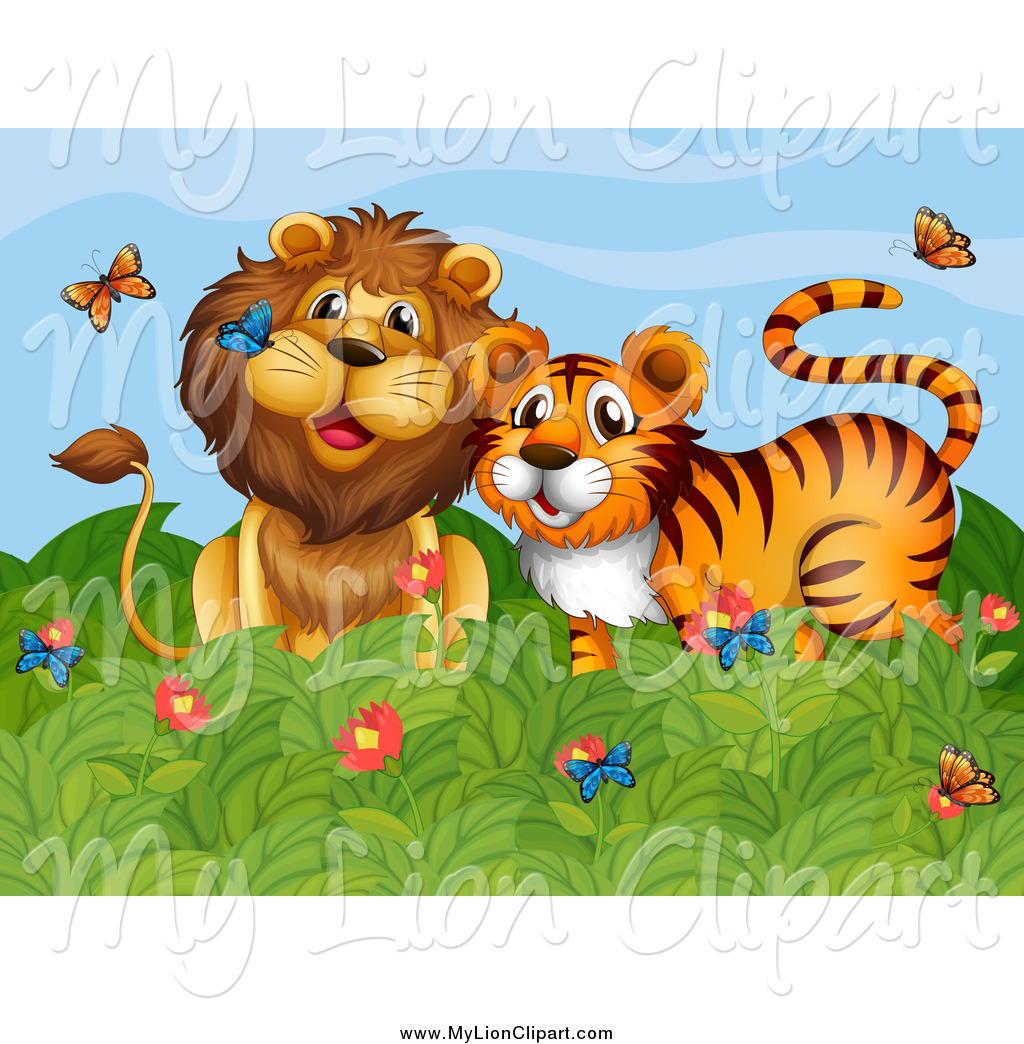 Royalty Free Tiger Stock Lion Designs.