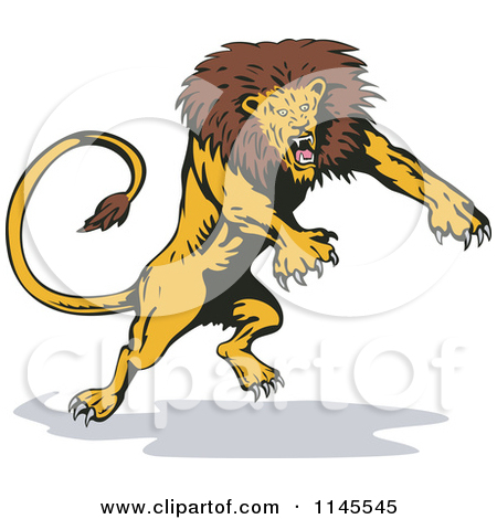 lion attack clipart 20 free Cliparts | Download images on ...