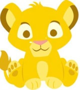 lion baby clipart #12