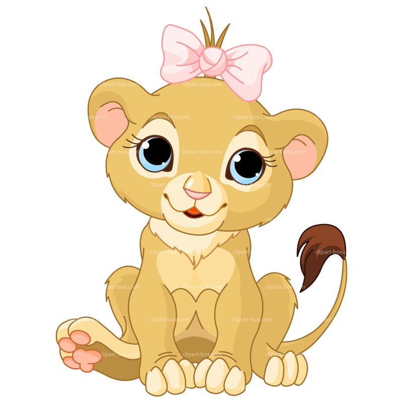 lion baby clipart #3