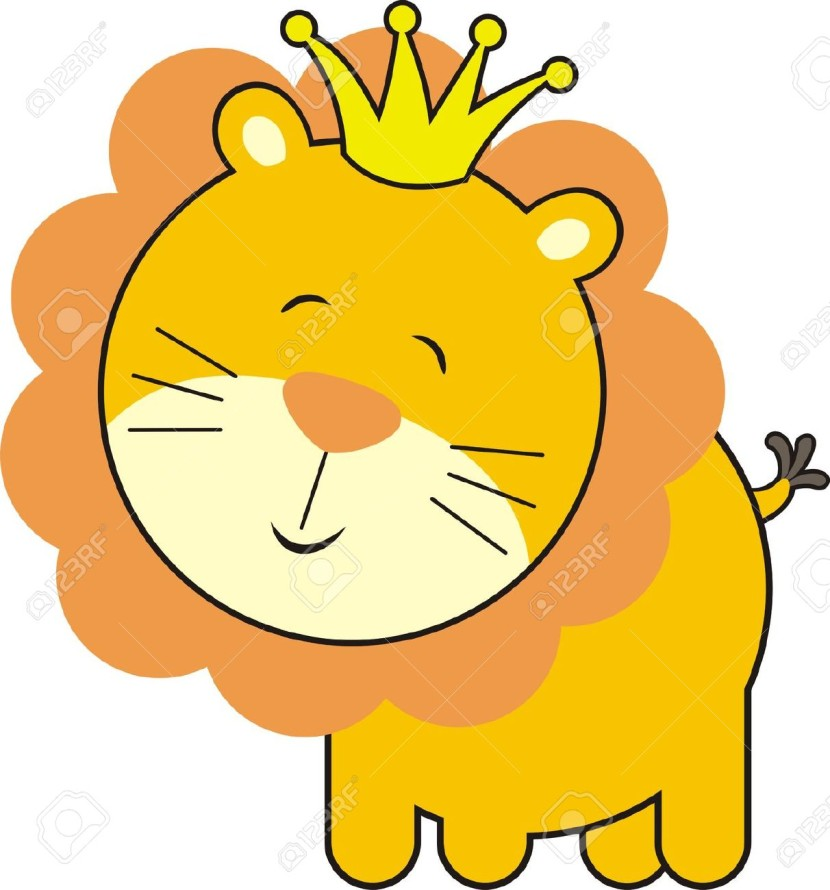 lion baby clipart #2