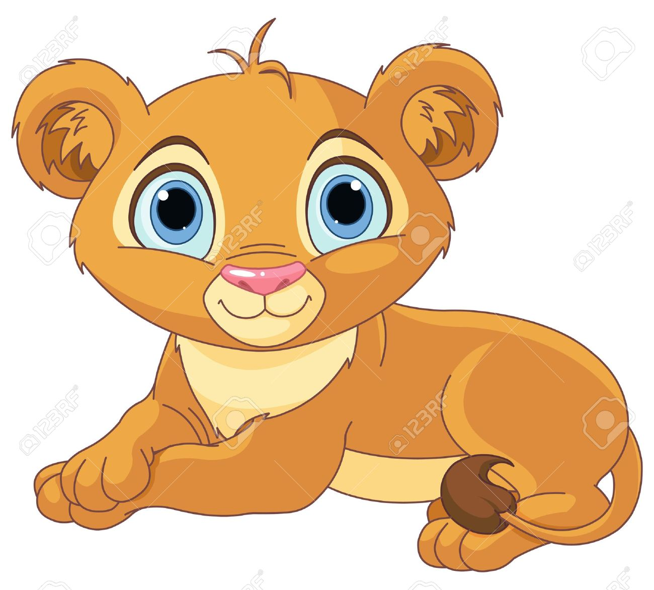 lion baby clipart #15