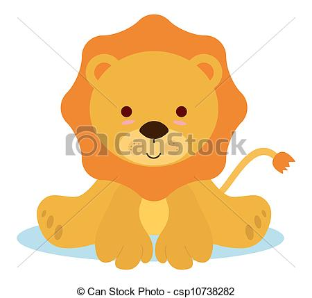 lion baby clipart #13