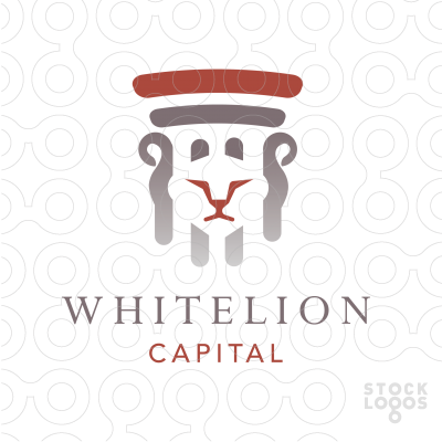 Exclusive Customizable Logo For Sale: White Lion Capital.