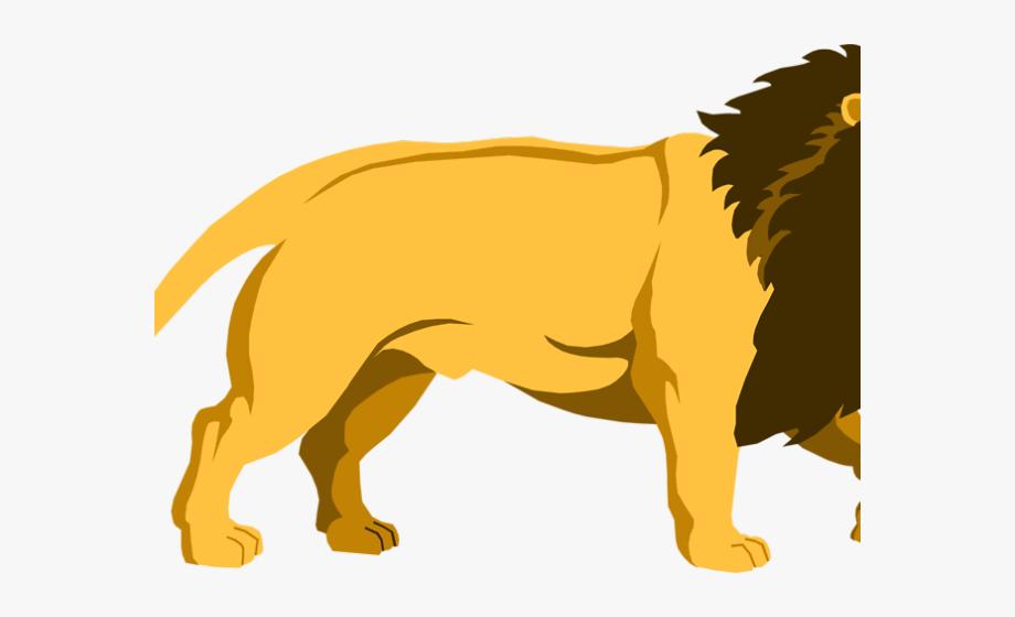 Lion Clipart Walking.