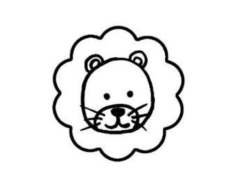 Free Cute Lion Clipart Black And White, Download Free Clip.