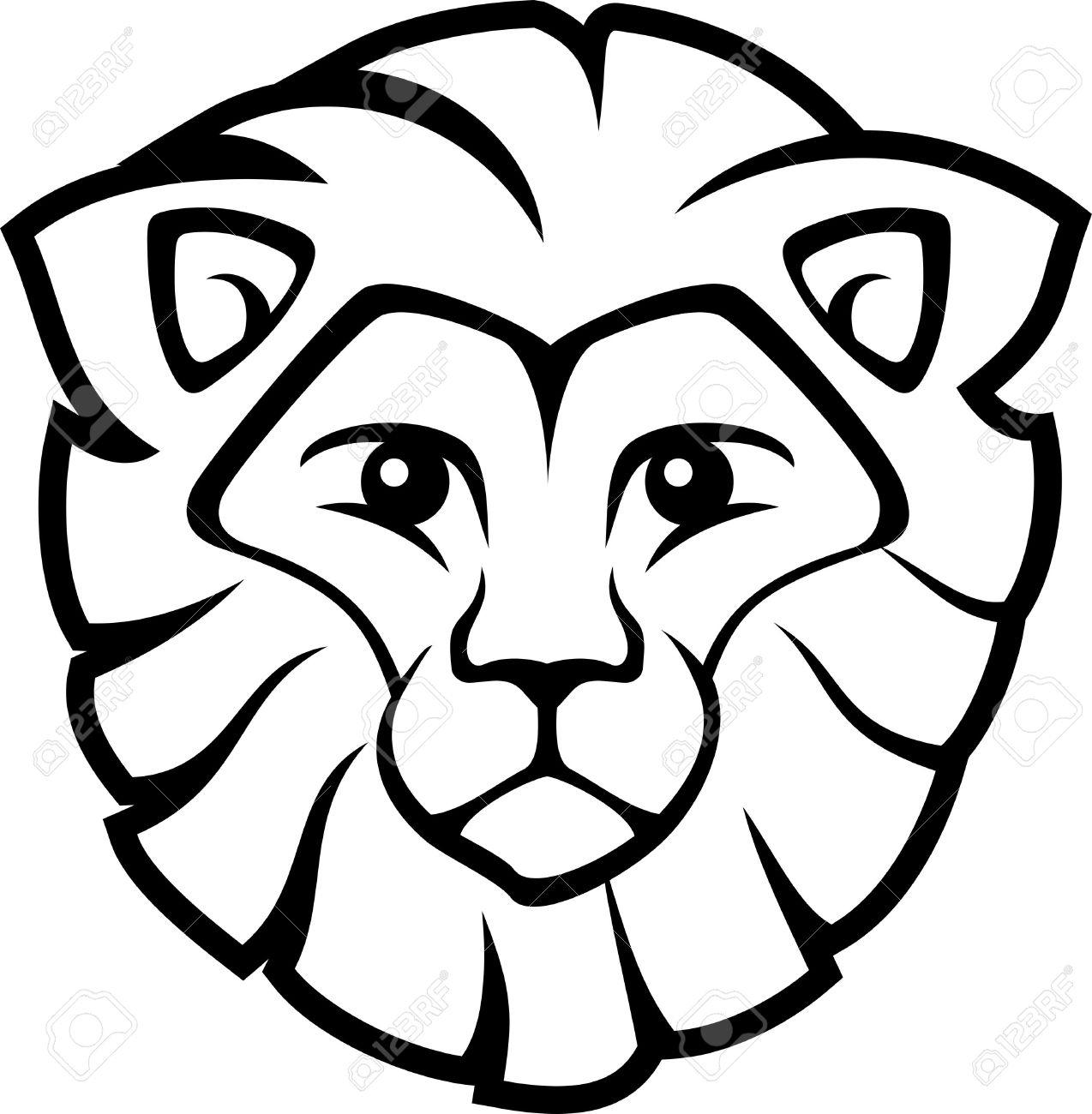 Lion Clipart Easy.