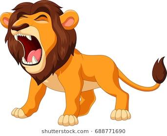 Roaring lion clipart 1 » Clipart Station.