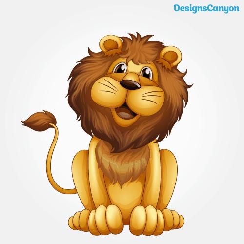 Lion Clipart Vector Eps Free Vector.