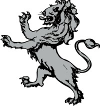 Lion Clip Art for your Coat of Arms Created by The Tree Maker.